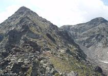Tras este paso se nos presenta la última rampa antes de llegar al pico de Cataperdís.