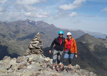 Pic de Cataperdís (2.806m) con vistas dirección NO al macizo de la Pica d´Estats.