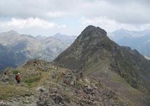 Vemos todo el itinerario hasta el pico de Arcalís.