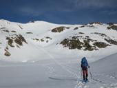 Pico de la Coma del Forn (2.685m) desde la Pleta del Prat