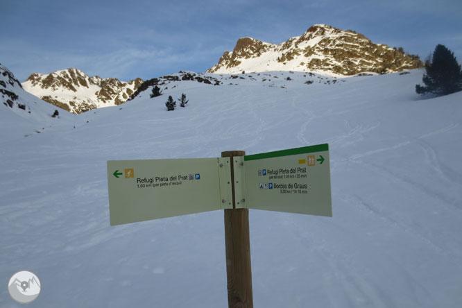 Pico de la Coma del Forn (2.685m) desde la Pleta del Prat 1