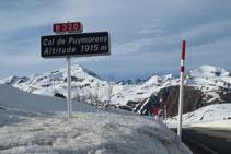 Collado de Puymorens, a 1.915m de altitud, frontera natural entre Cataluña y Occitania.