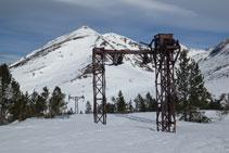 Antigua instalación de las minas de Puymorens.