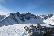 Cima del pico de la Mina (2.683m).