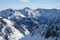 Vistas del Carlit, la montaña más alta de la zona de la Alta Cerdaña.