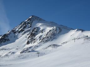 Pico de la Mina (2.683m) desde el collado de Puymorens