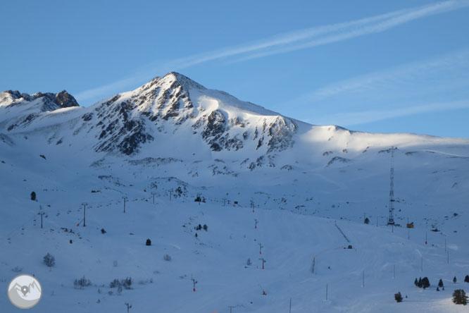Pico de la Mina (2.683m) desde el collado de Puymorens 1