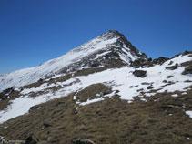 Cota 2.594m, antecima del pico de Nérassol.