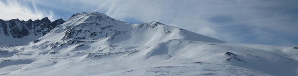 Pico de Pedrons (2.715m) desde la frontera Andorra-Francia