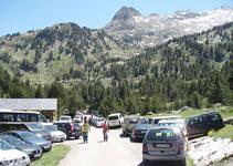 La Besurta (1.920m) y el pico de la Renclusa al fondo.