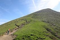 Nos falta hacer un último esfuerzo antes de llegar a la cima del Ori.
