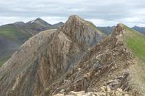 Pico del Medio, Casamanya Norte y Estanyó.
