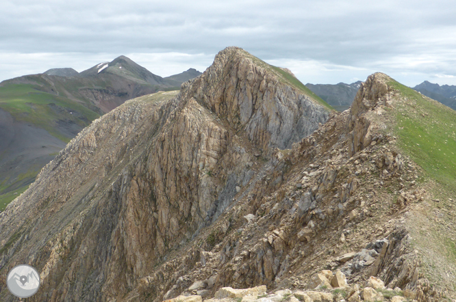 Picos de Casamanya desde el collado de Ordino 1