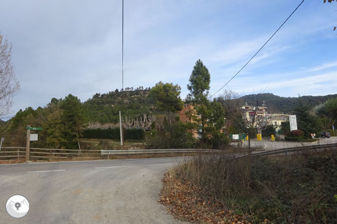 El puente de la Frau y el Castellvell de Solsona 1