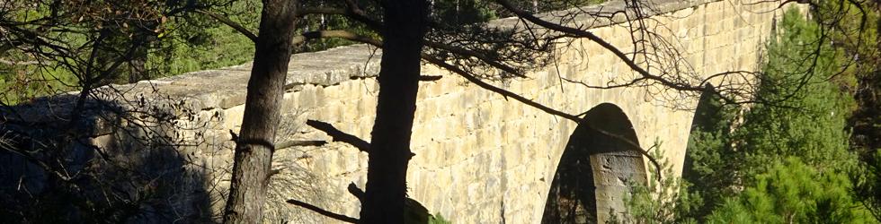 El puente de la Frau y el Castellvell de Solsona