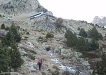 Refugio Ángel Orús (2.150m).