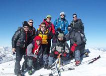 Pico Posets o Tuca de Llardana (3.375m).
