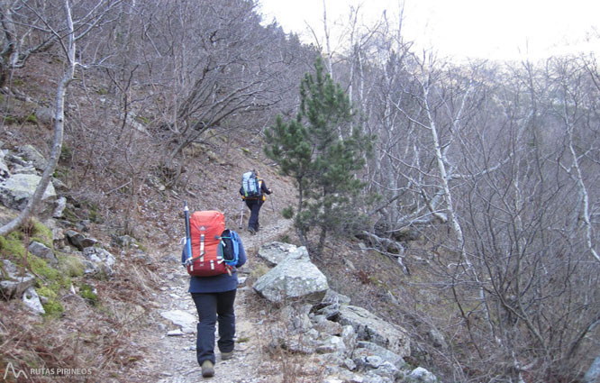 Posets (3.375m) por el refugio Ángel Orús 1