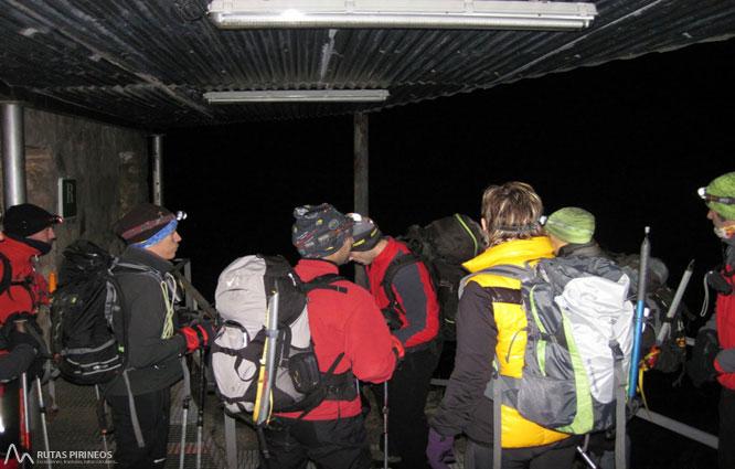 Posets (3.375m) por el refugio Ángel Orús 2