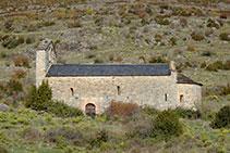 Iglesia románica de Sant Mamet.