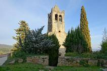 Iglesia románica de Sant Llorenç d´Adri.