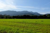 Montañas de Rocacorba en Canet d´Adri.