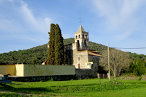 Iglesia de Sant Vicenç de Canet d´Adri.