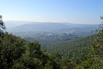 Vistas de la llanura de Calonge.