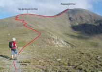 Collado de Fontalba (2.450m).