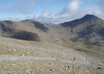 Cresta que une el Puigmal con el Petit Segre (2.813m) y el pico de Segre (2.848m).