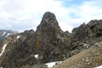 Roc Colom (2.724m) en el valle de Campcardós, para muchos la montaña más salvaje de la Cerdaña.