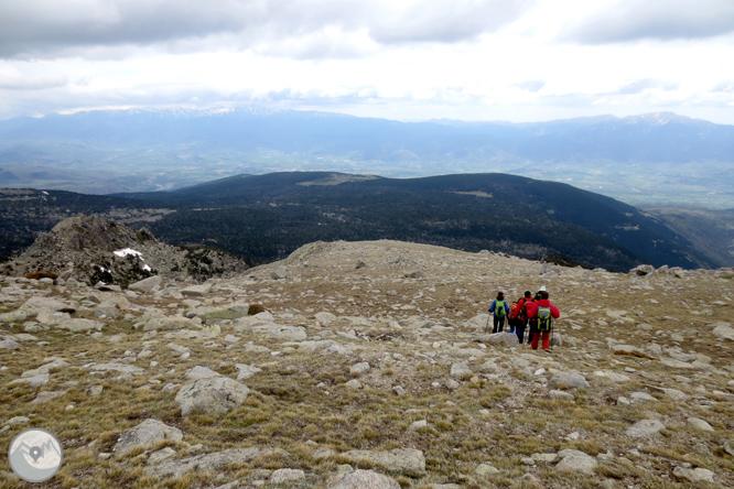 Puigpedrós (2.915m) por Engorgs desde el refugio de Malniu 1