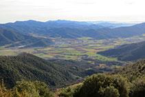 Vistas de la Vall d´en Bas.