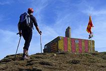 Cumbre del Puigsacalm.