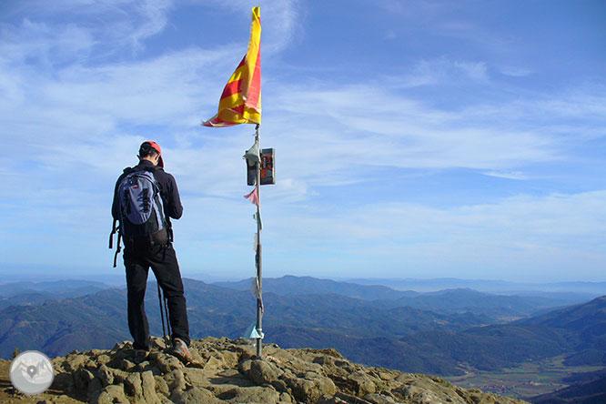 Puigsacalm (1.515m) y Puig dels Llops (1.486m) desde Joanetes 1