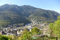 El bosque de la Umbría de Andorra.