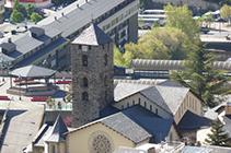 Iglesia de Sant Esteve de Andorra la Vella.