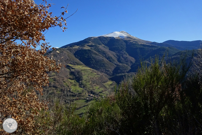Por Campelles y Ribes de Freser bajo la mirada del Taga 1