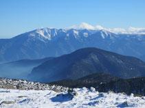 Vistas del Canigó desde la cima