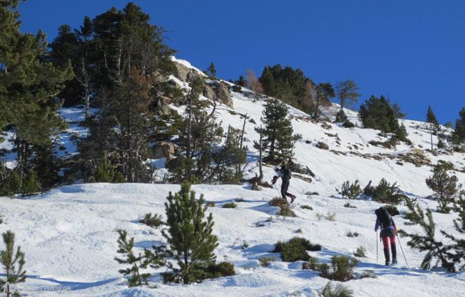 Roc de Madres (2.469m) desde Odelló 1