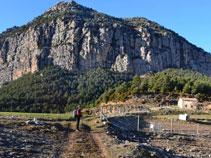 Panorámica de Roca de Canalda desde les Saleres