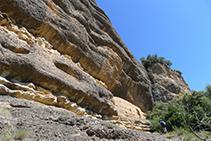 Cabaña de piedra seca.