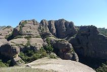 Roca de Sant Honorat.