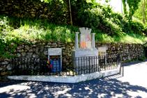 Monumento a los combatientes republicanos en Les Illes.
