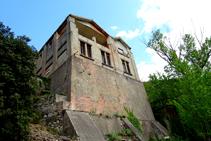 Edificio - refugio Mina Canta.