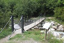 Puente de la Palanca de la borda de Pei.
