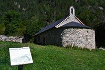 Ermita románica de Sant Nicolau.