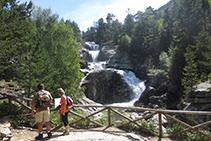 Mirador de la cascada de Sant Esperit.