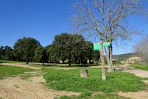 Camino a la ermita de Sant Quirze.