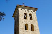Campanario de la ermita de la Mare de Déu de les Alegries.